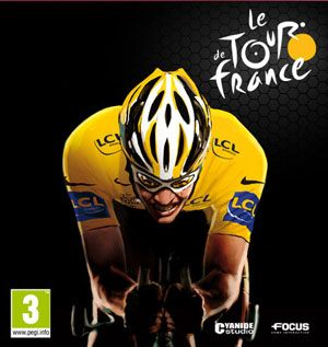 le tour de france computerspil cover
