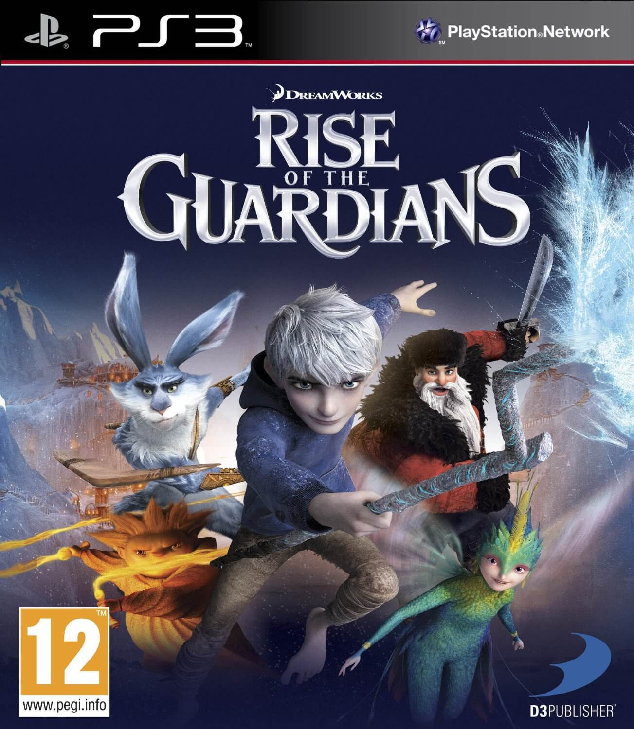 Rise of the Guardians – Anmeldelse